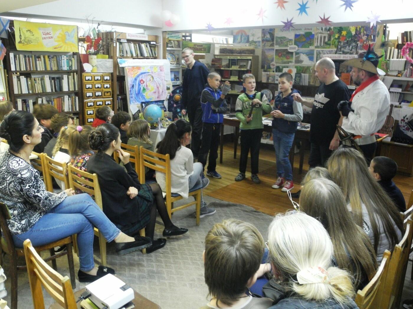 В Ялтинской библиотеке № 8 масштабно провели акцию «Ночь искусств», фото-1