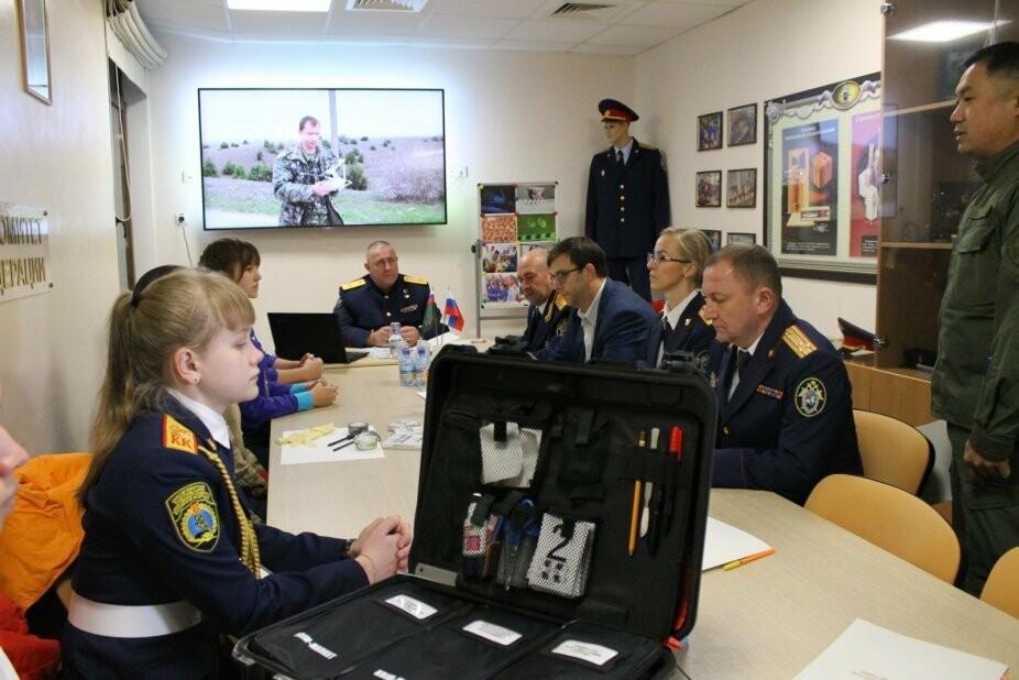 """В """"Артеке"""" открыли учебный криминалистический комплекс, фото-1"""