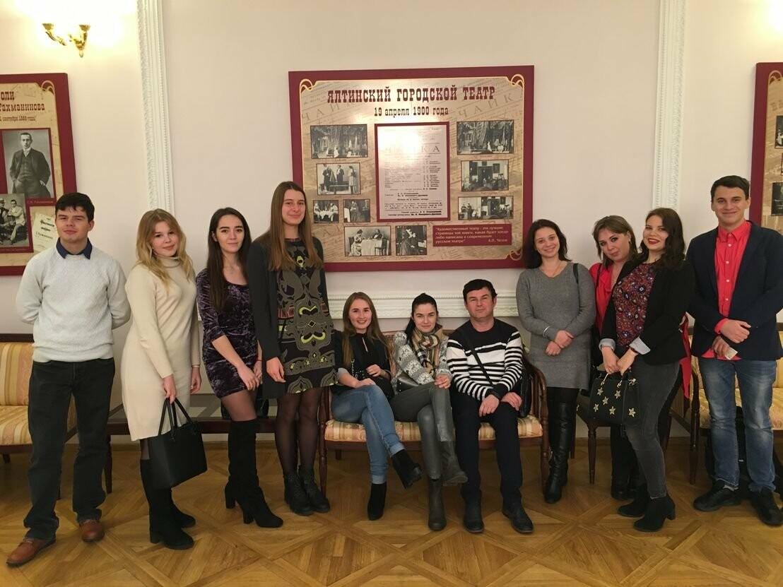 Студенты Ялты приняли участие в театральном проекте академии , фото-1