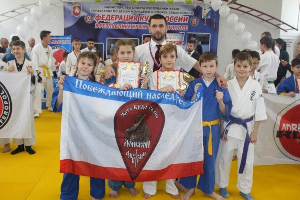 Ялтинские кудоисты завоевали семь медалей на Первенстве Крыма  в Феодосии , фото-2