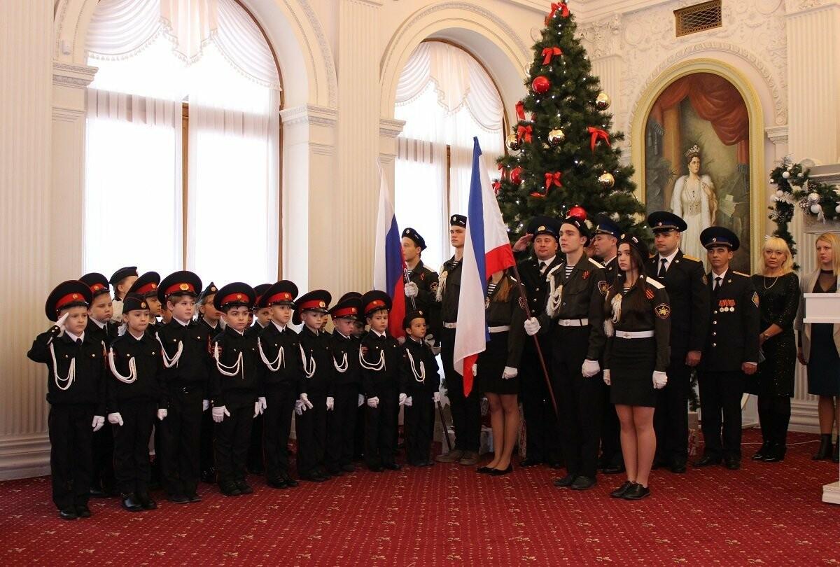 В Ялте 106 кадетов приняли присягу , фото-1