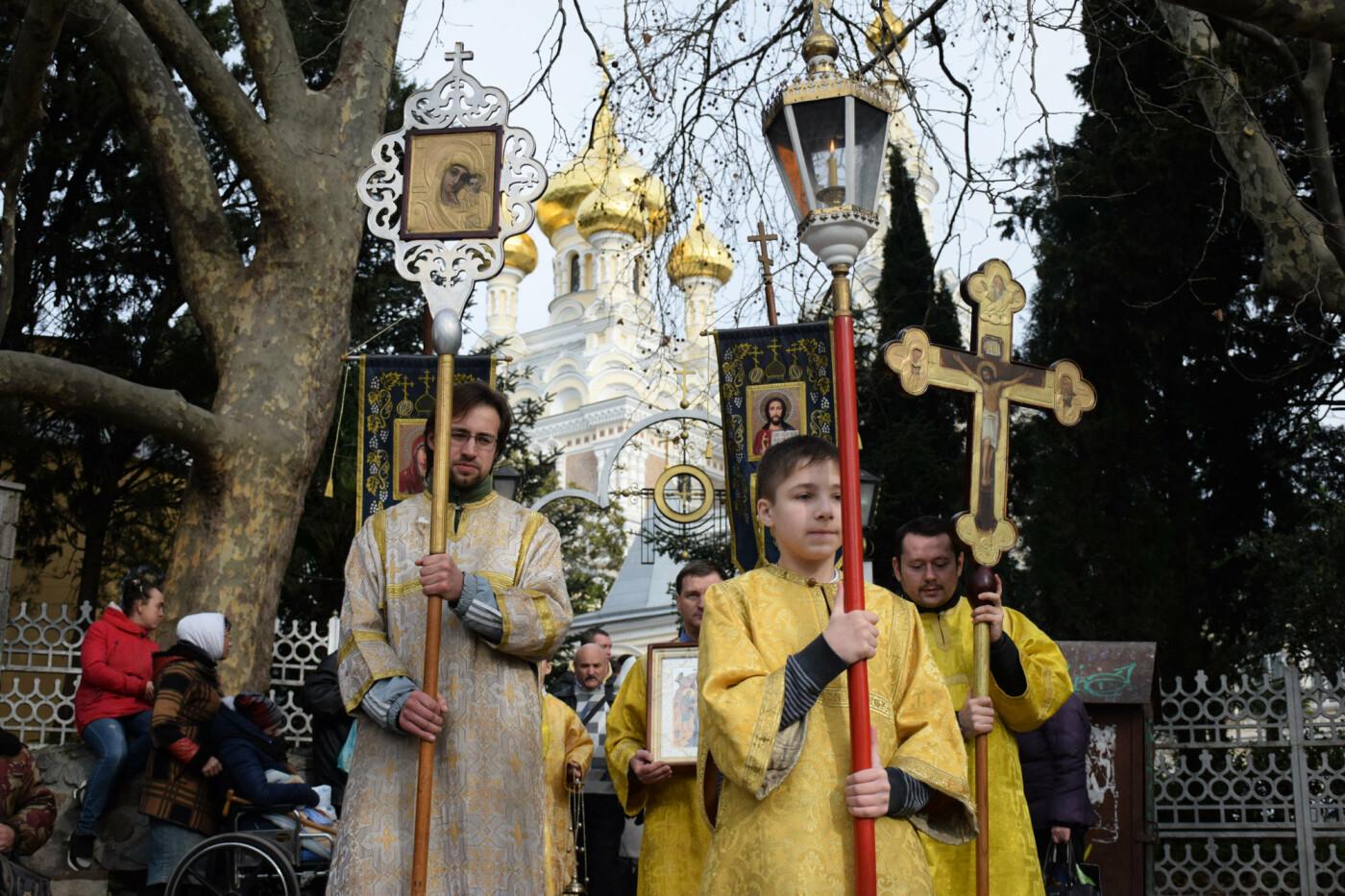 Жители ялтинского региона отметили Крещение Господне, фото-2
