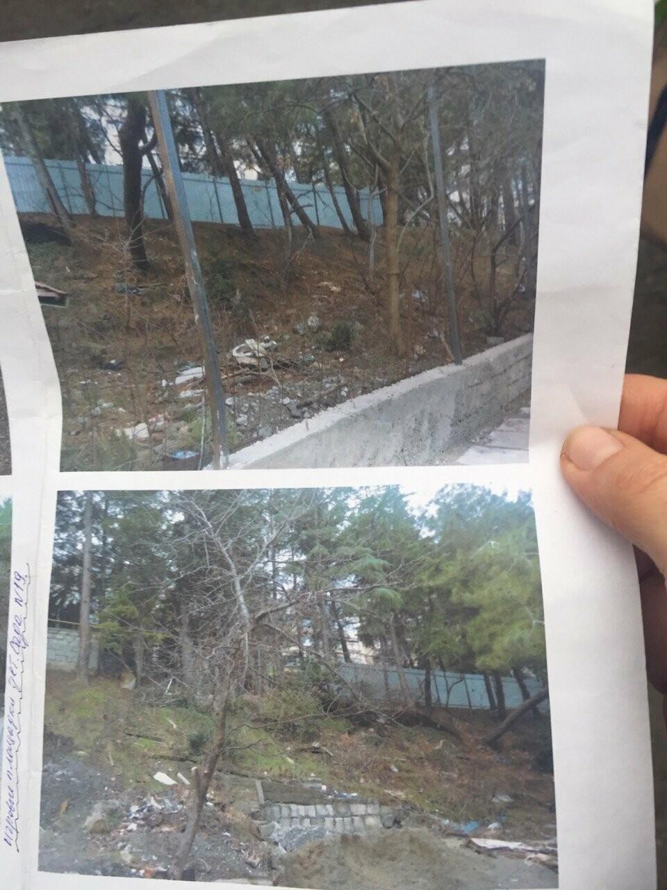 Жители Ялты возмущены строительством на склоне в районе улицы Мисхорская, фото-4
