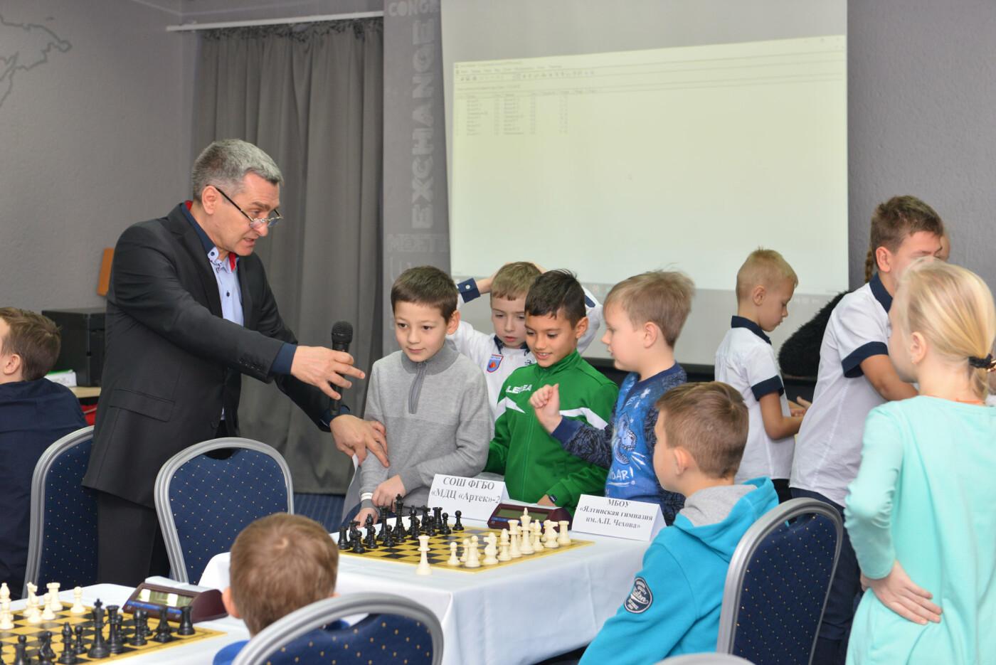 В Ялте определили победителей  муниципального  этапа Международного  шахматного турнира, фото-1