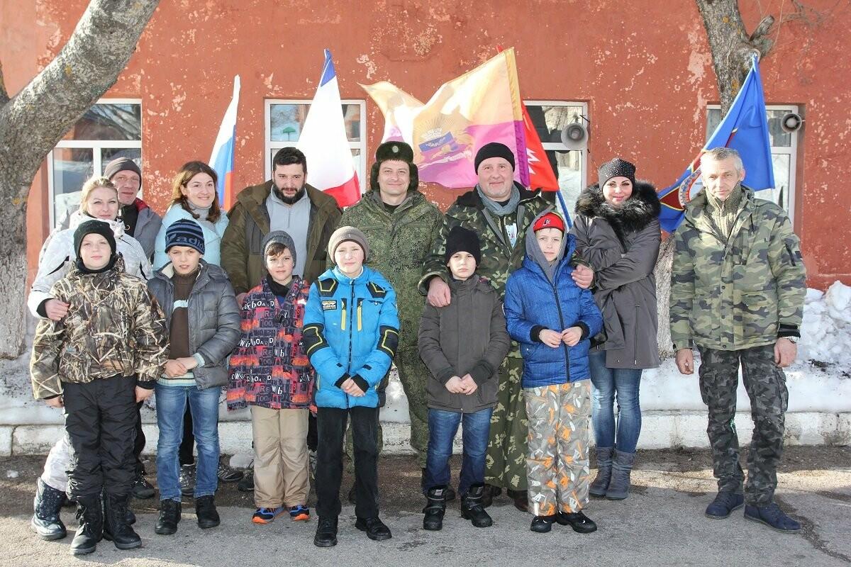 В Ялте прошел День открытых дверей в батальоне военно-космических сил , фото-2