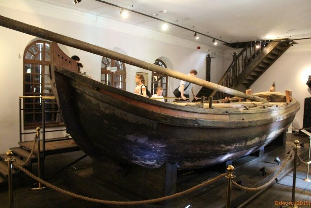 В «Артек» прибыла копия одного из старейших сохранившихся русских кораблей - Ботик Петра I , фото-1