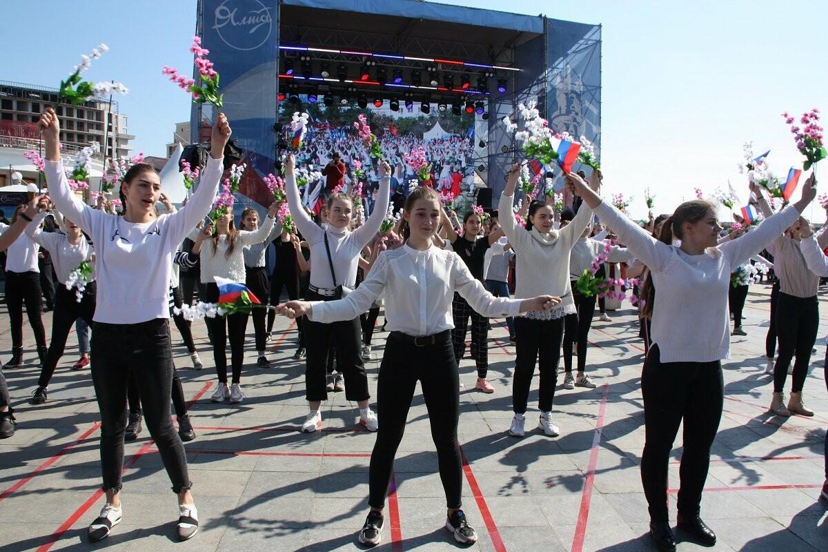 Ялтинцы празднуют пятую годовщину Крымской весны , фото-3