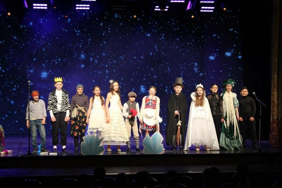Школа №12 из Ялты - среди победителей республиканского англоязычного театрального конкурса , фото-2