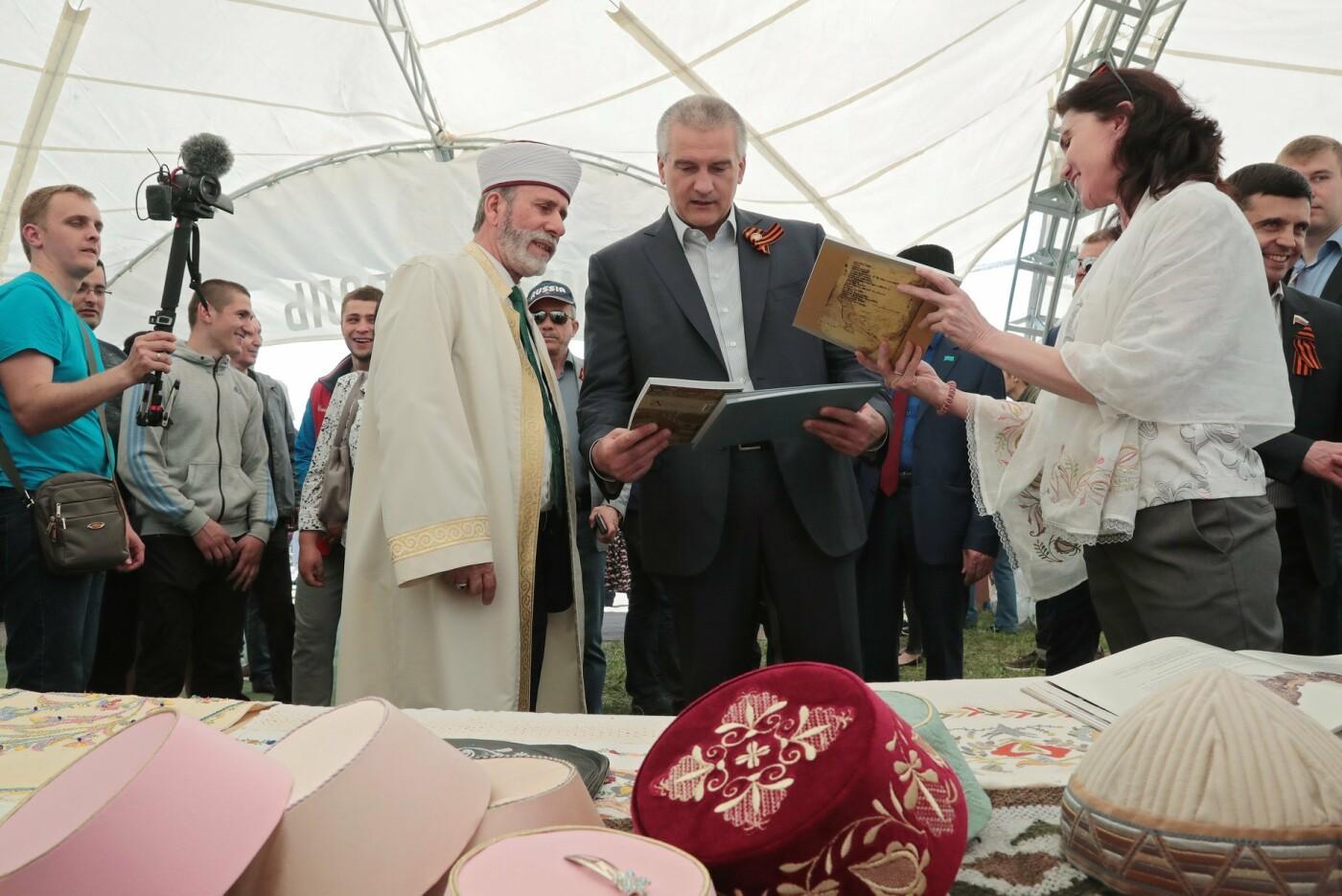 Ялта заняла второе место на лучший крымскотатарский национальный павильон праздника «Хыдырлез», фото-1