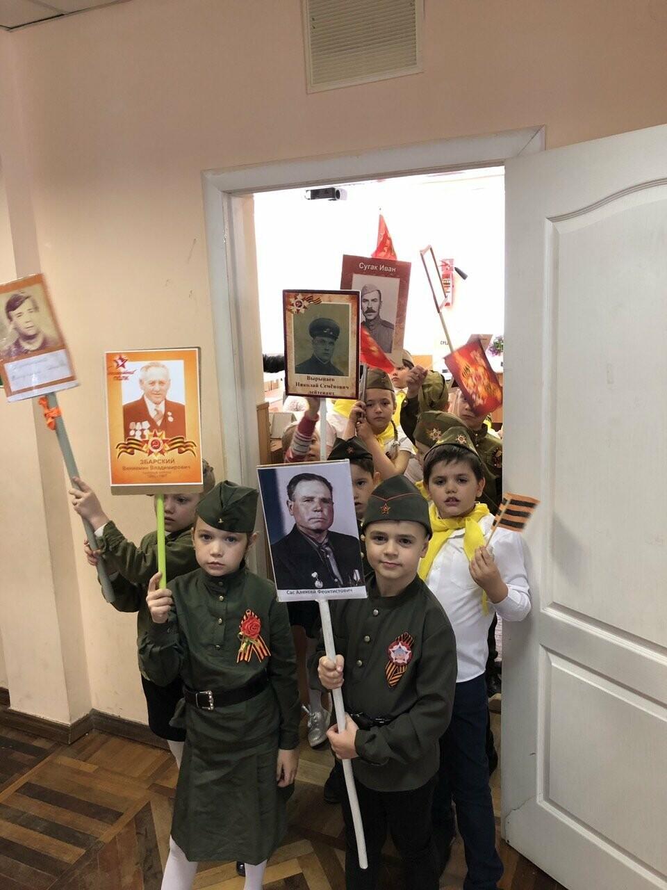 Ученики Ялтинской школы № 1 приняли участие в линейке Памяти, фото-5