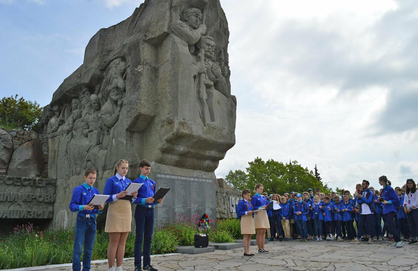 В День Победы артековцы несут «Вахту памяти» по всему Крыму, фото-2
