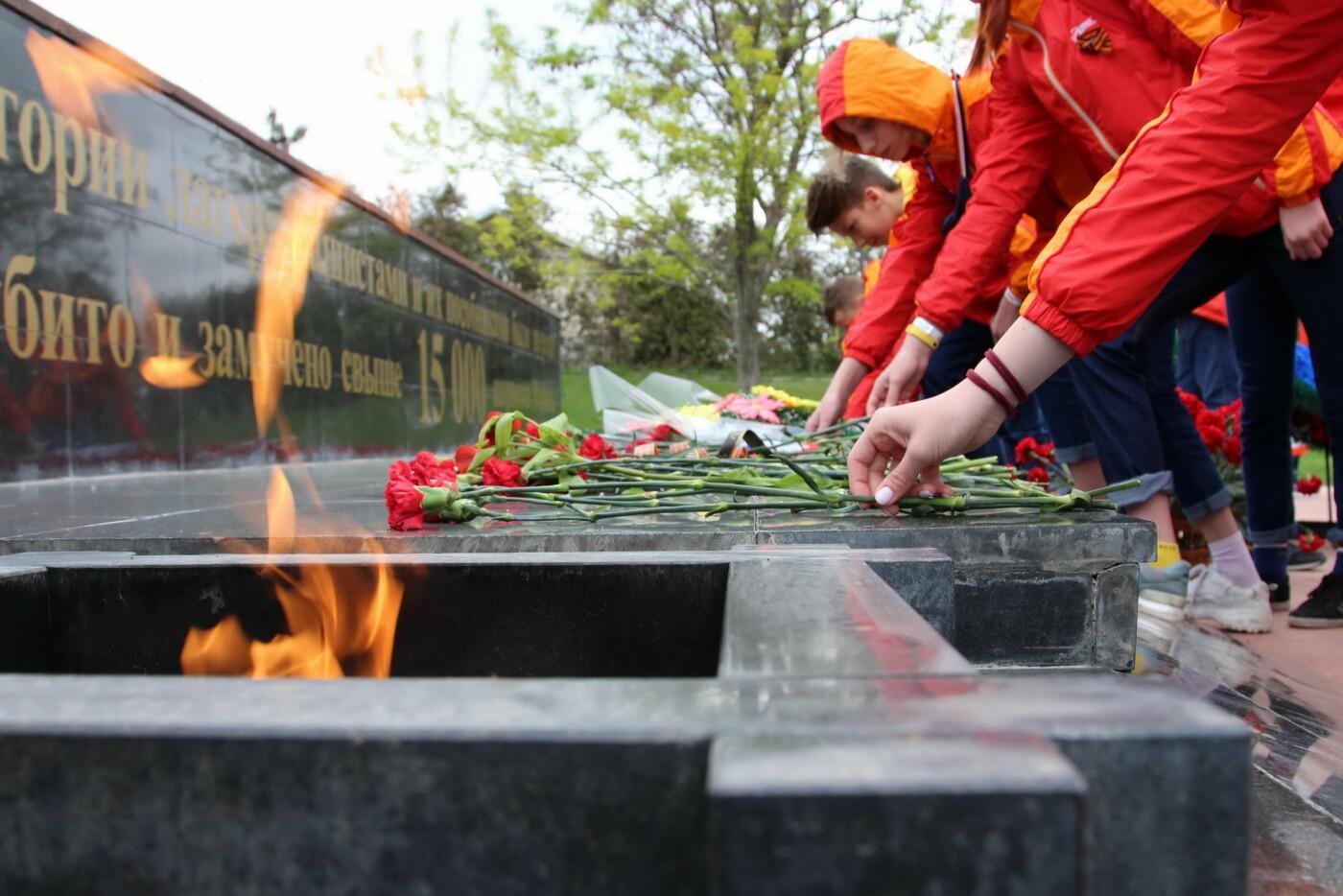 В День Победы артековцы несут «Вахту памяти» по всему Крыму, фото-1