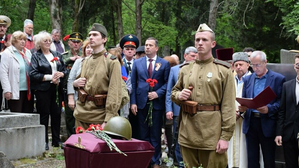 В Ялте перезахоронили останки воинов, погибших в районе плато Ай-Петри в годы войны, фото-2