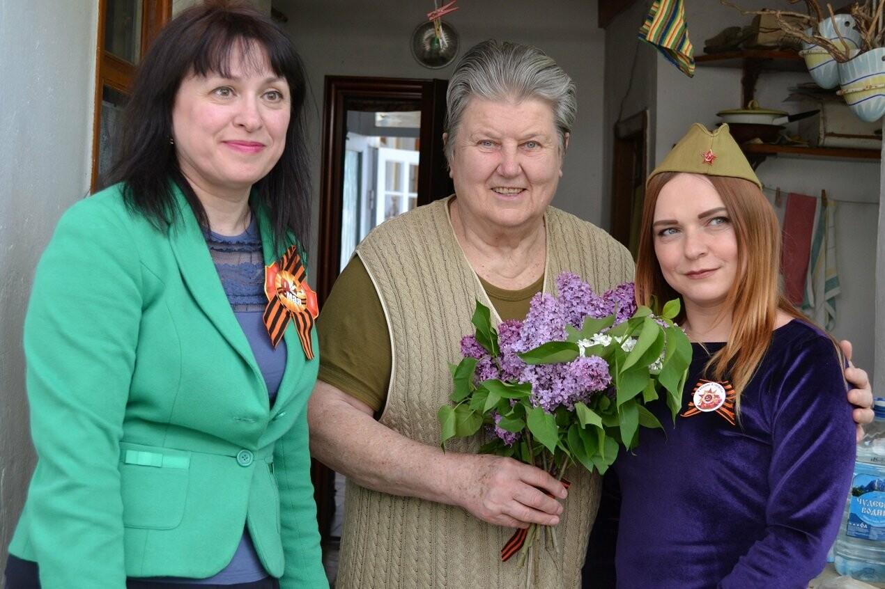 Алупкинскому Ветерану ВОВ нанесли визит Почета в честь Дня Победы, фото-1