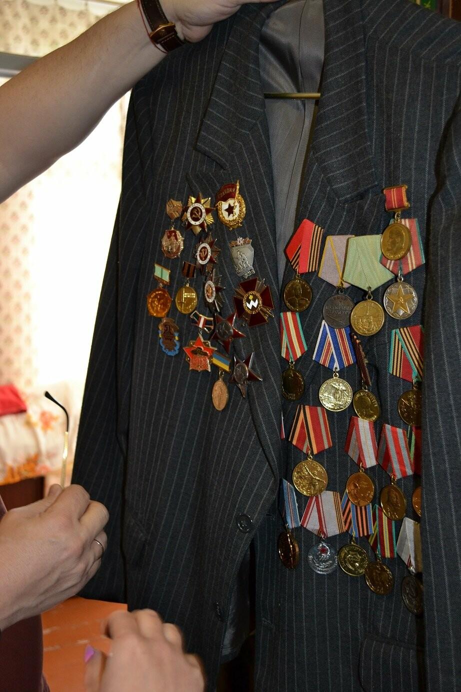 Алупкинскому Ветерану ВОВ нанесли визит Почета в честь Дня Победы, фото-2