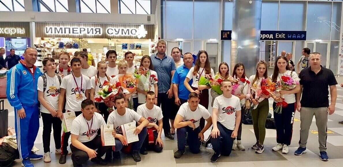 Спортсмены из Ялты - среди чемпионов Первенства России по сумо, фото-3