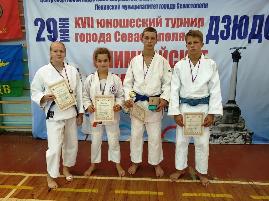 Ялтинские дзюдоисты показали хорошие результаты на турнире Севастополя «Олимпийские надежды», фото-1