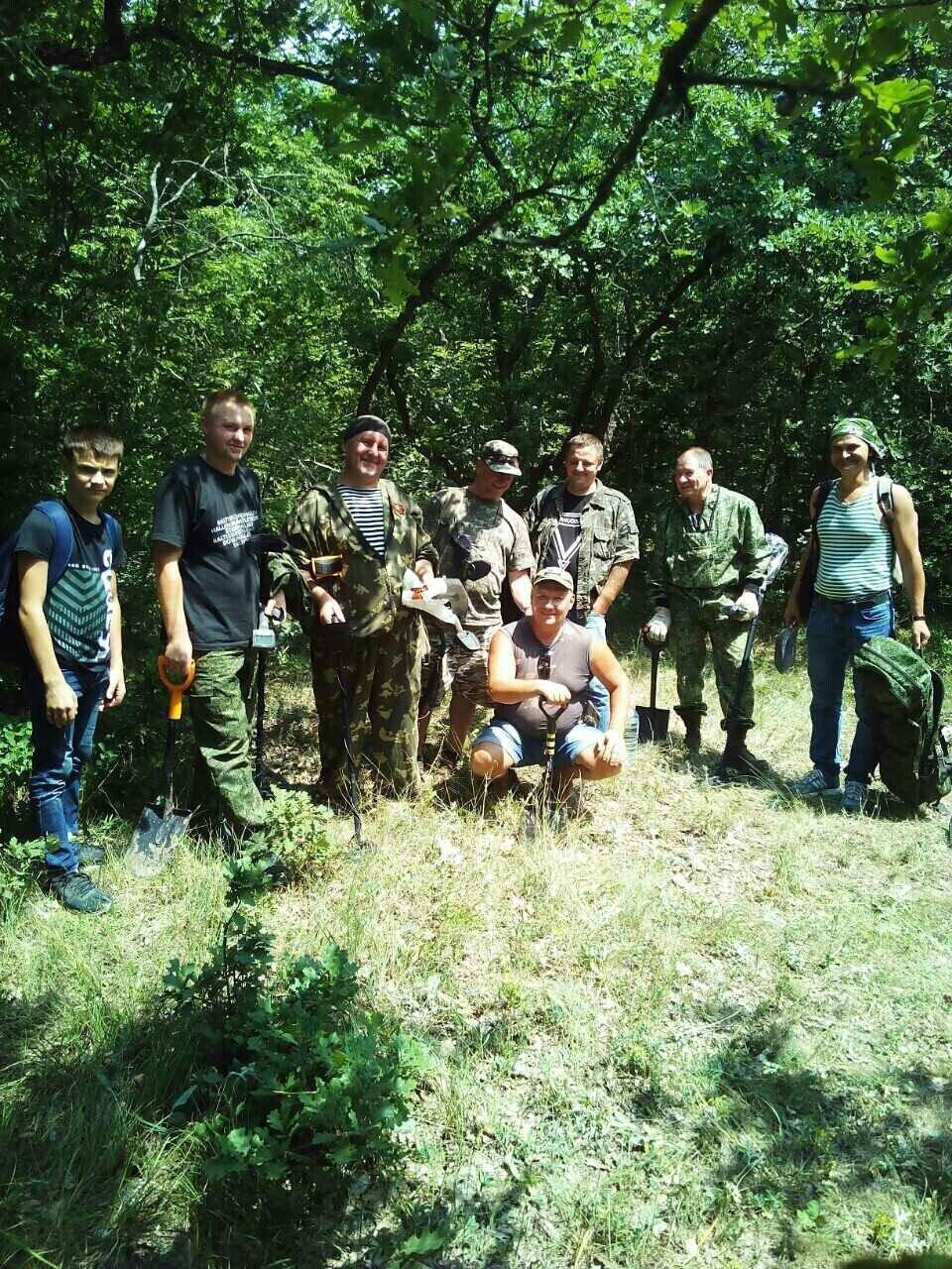Поисковики из Ялты подняли останки 5-ти защитников Севастополя, фото-1