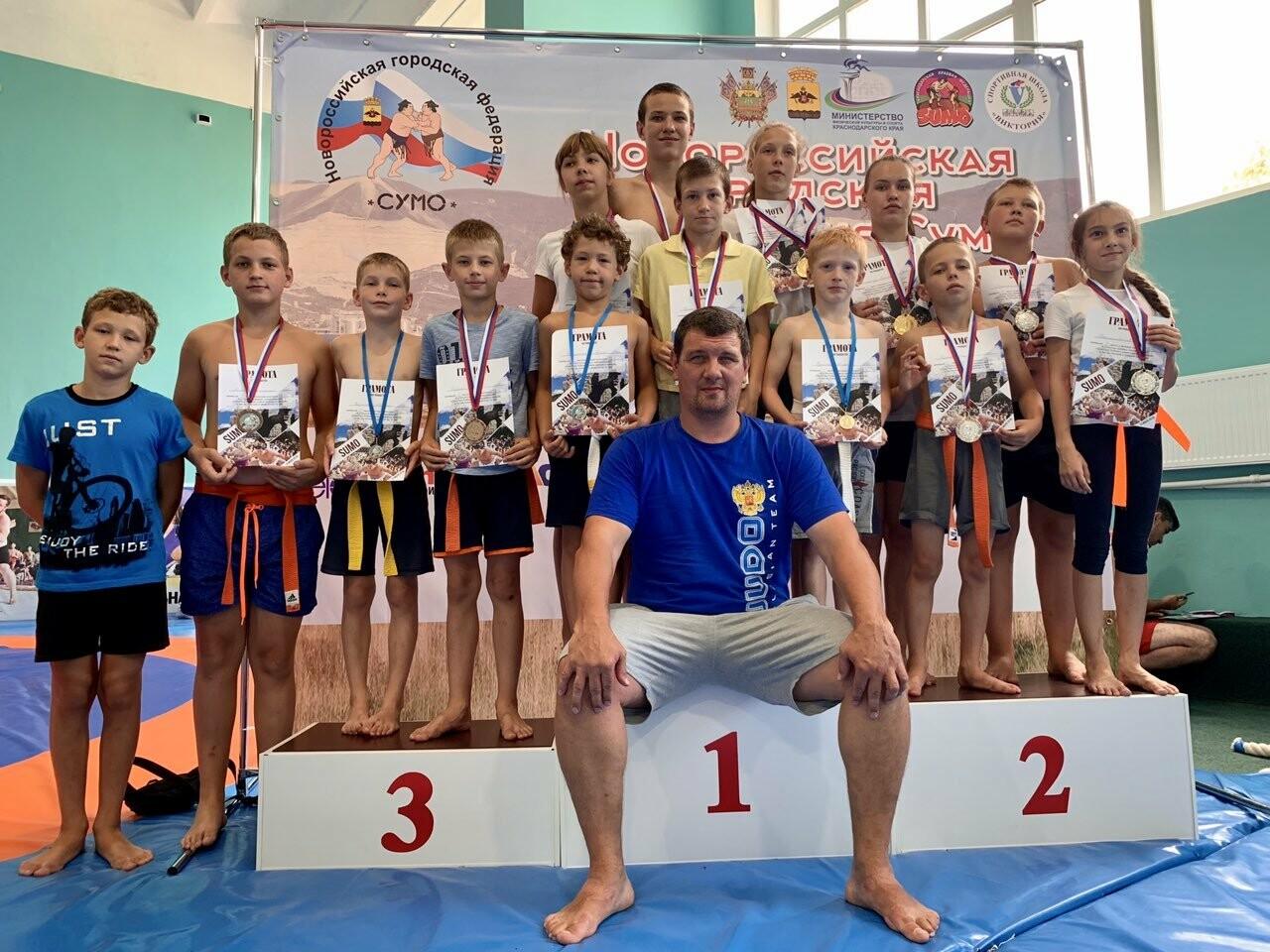 Сумоисты Ялты завоевали золото и титулы чемпионов на «Сумотори Кубани», фото-1