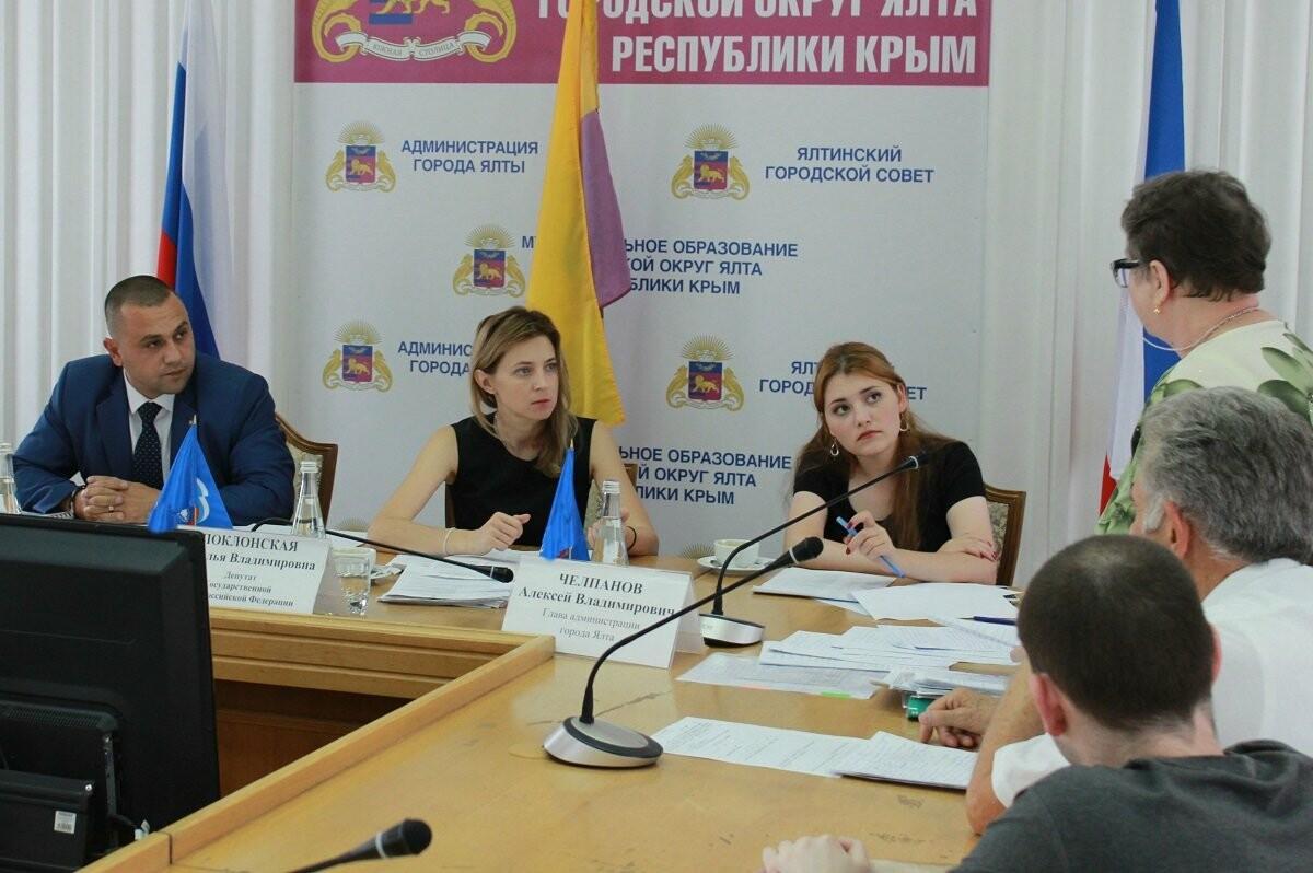 Наталья Поклонская провела встречу с крымчанами в Ялте, фото-2