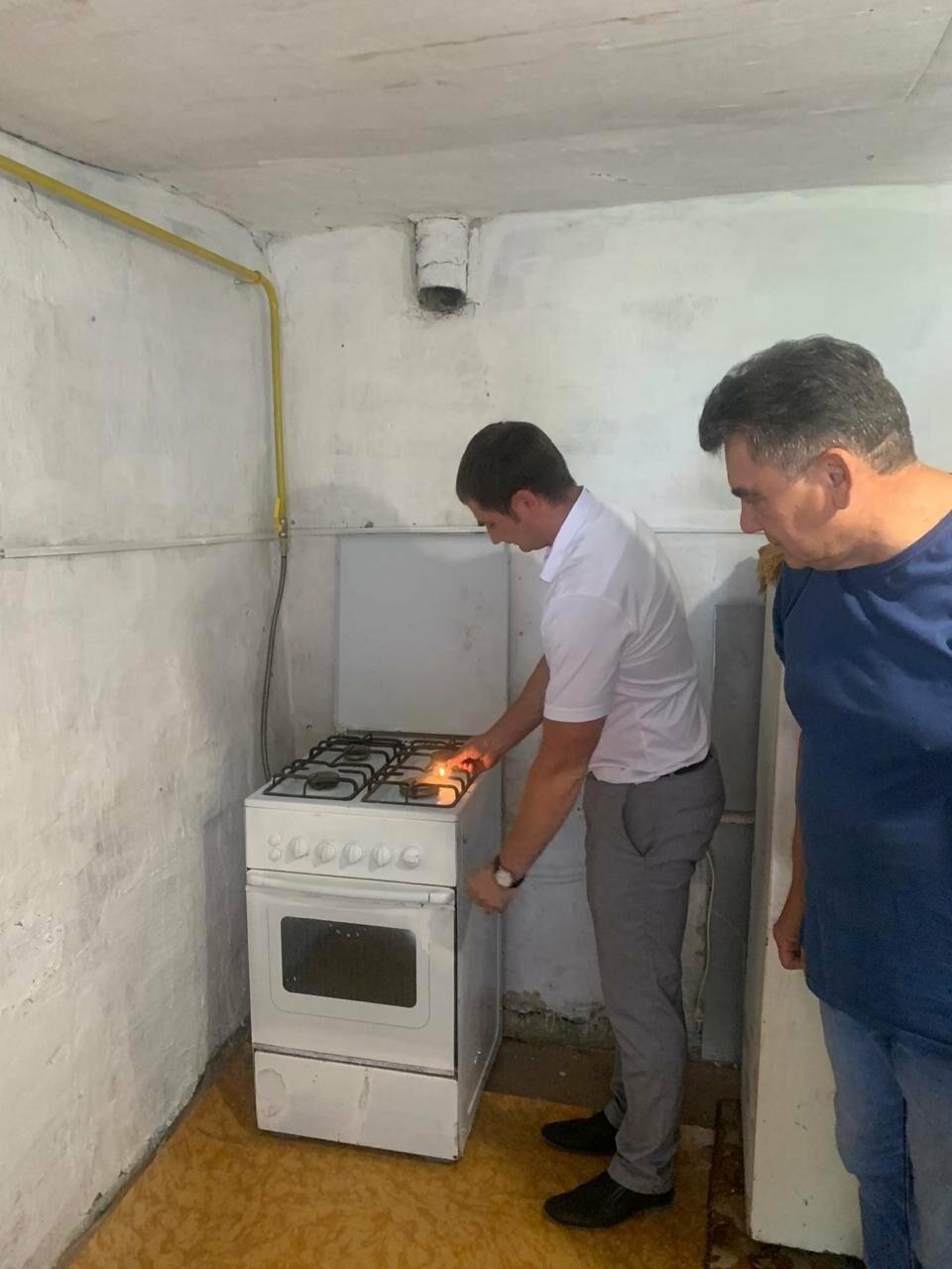 В труднодоступный район Гаспры провели газ, фото-2
