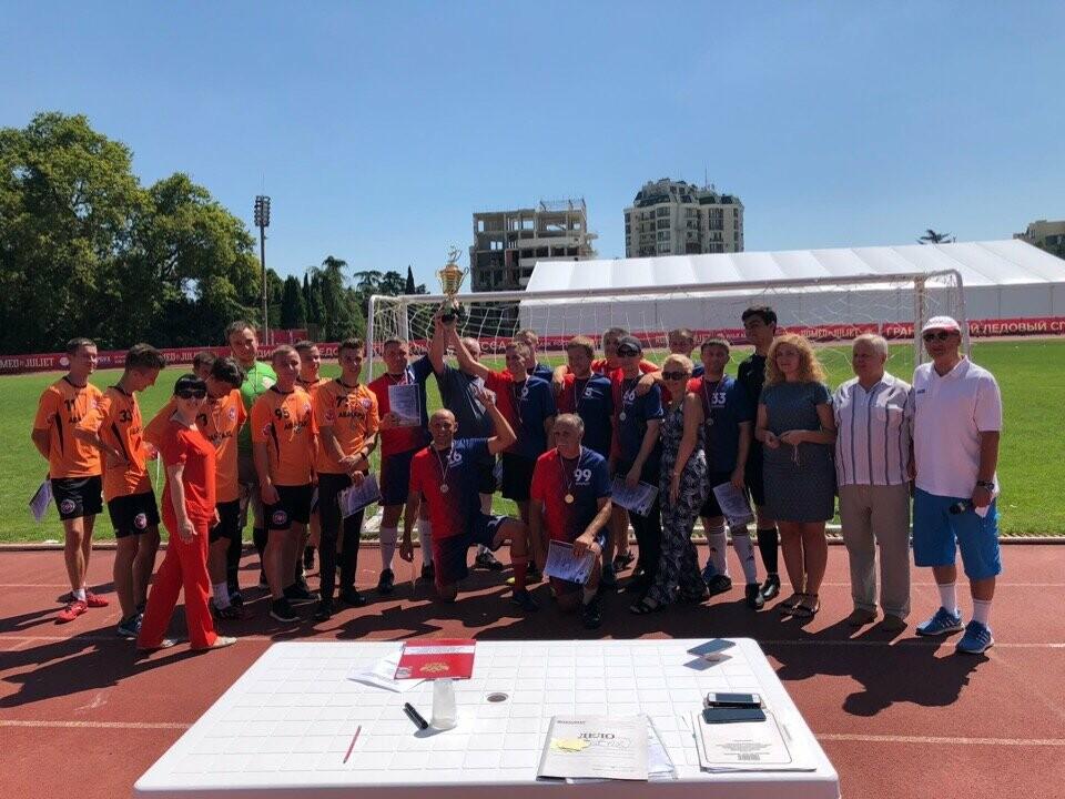 В Ялте представители власти сыграли в футбол с молодежью, фото-2