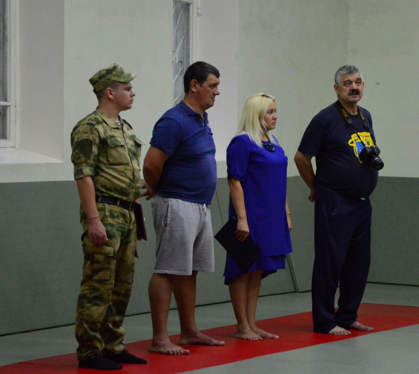 В Гаспре в День солидарности в борьбе с терроризмом прошла открытая тренировка по дзюдо, фото-2