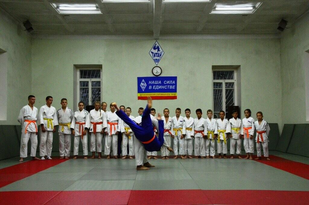 В Гаспре в День солидарности в борьбе с терроризмом прошла открытая тренировка по дзюдо, фото-3