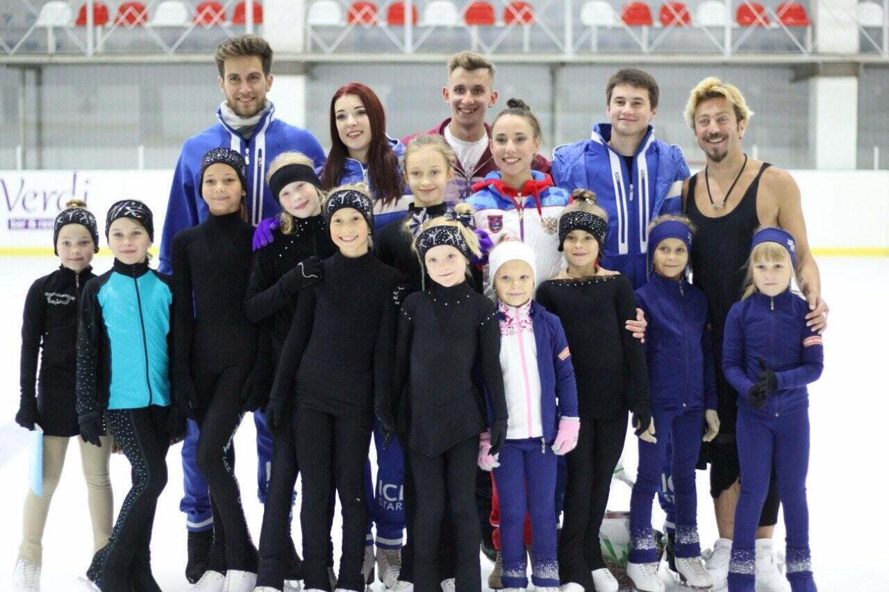 Звёзды мировой величины провели благотворительный мастер-класс для юных фигуристов Ялты, фото-2