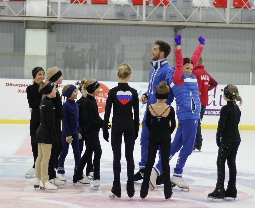Звёзды мировой величины провели благотворительный мастер-класс для юных фигуристов Ялты, фото-1