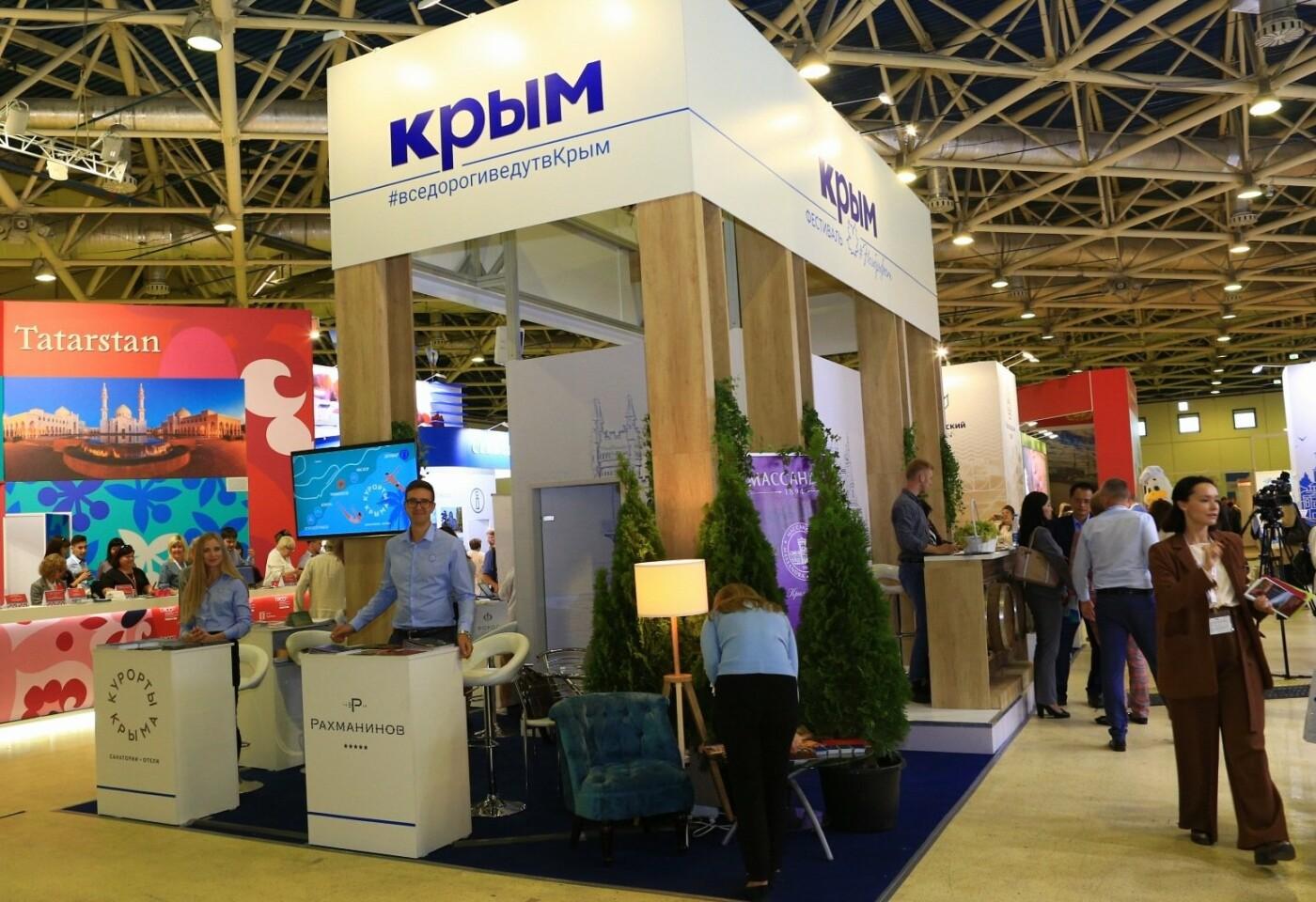 Санатории сети «Курорты Крыма» презентуют свои возможности на Международной выставке по туризму, фото-1