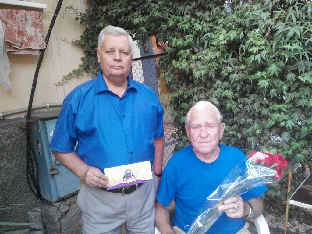 Четыре жителя Ялты отметили 90-летние юбилеи, фото-3