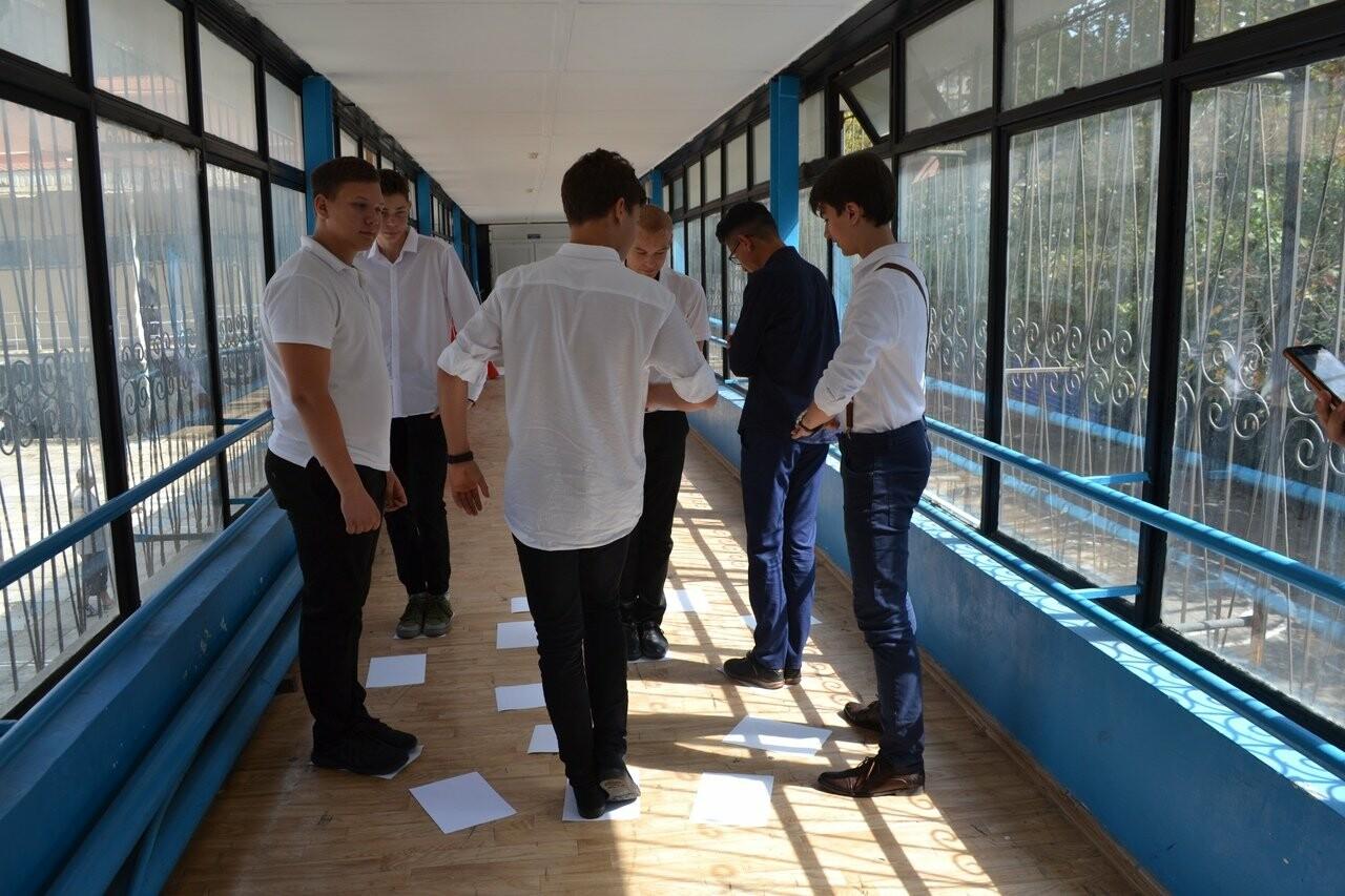 В Ялтинской школе №9 прошел исторический квест «Дальневосточная Победа», фото-3