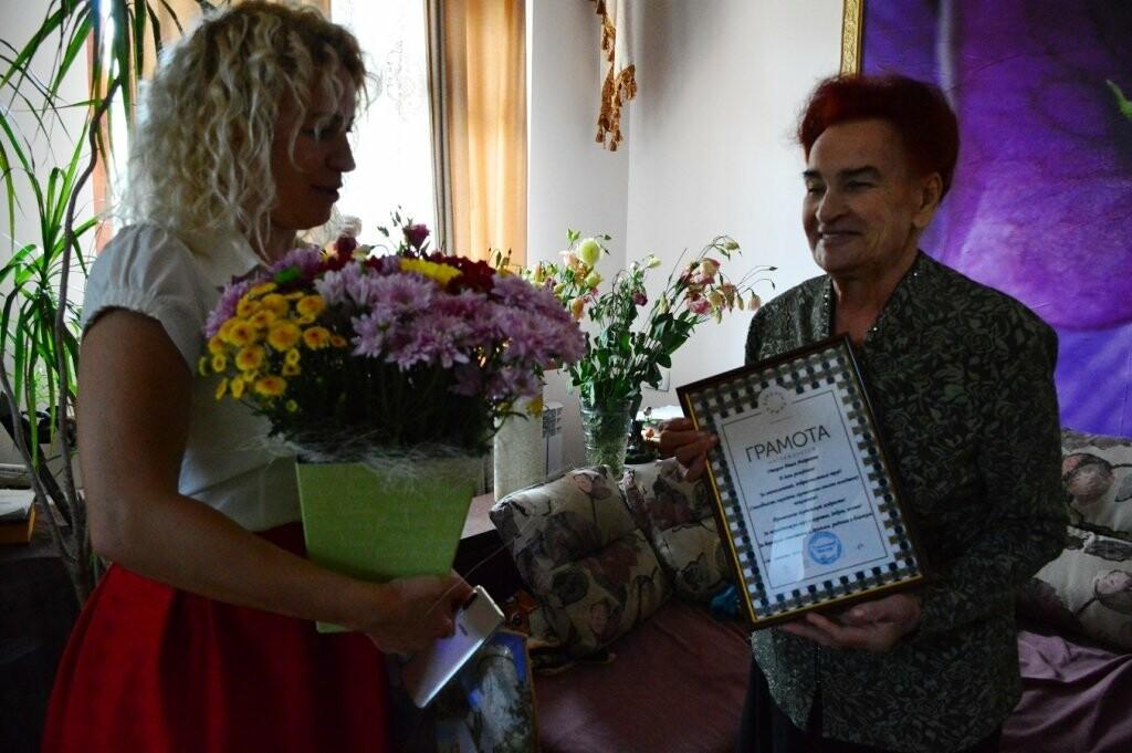 Сеть «Курорты Крыма» поздравили своих Ветеранов с юбилеем  и Днём флага и герба Крыма, фото-1