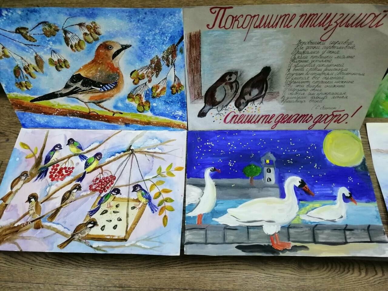 Ялтинские школьники подключились к природоохранной акции «Кормушка», фото-2