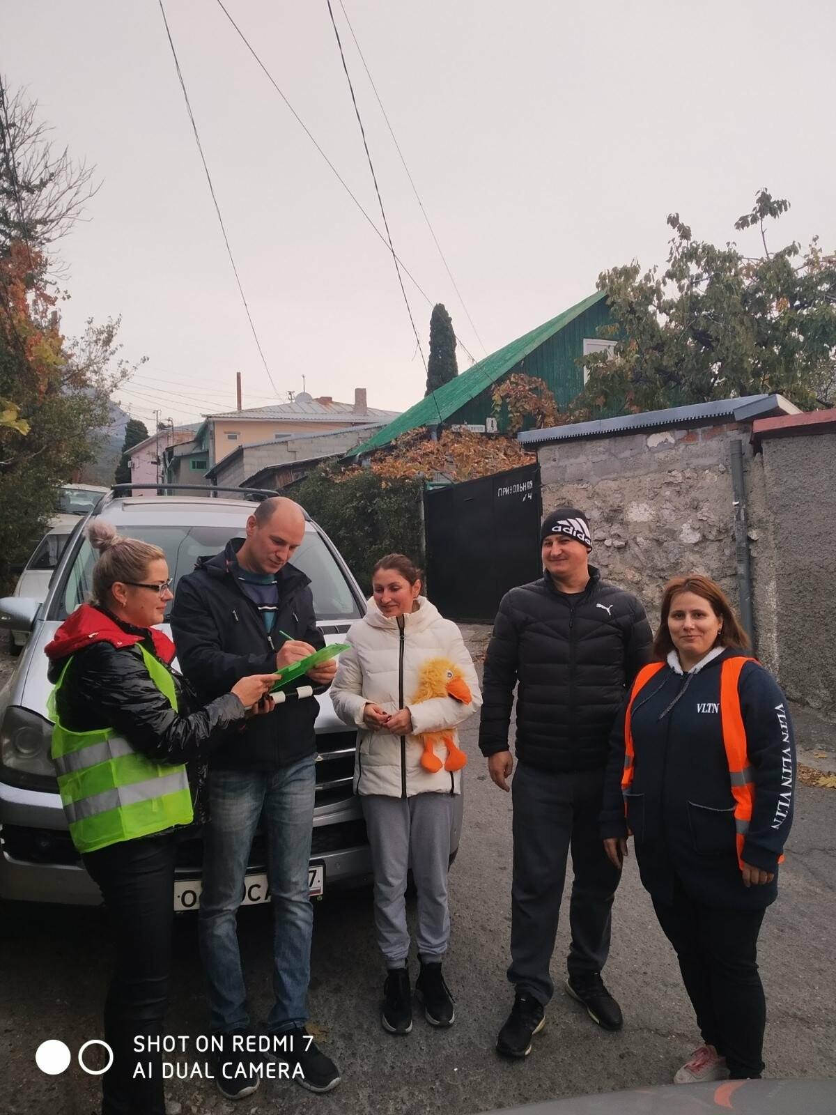 В помощь ГИБДД: «Родительский патруль» в Ялте проконтролировал почти 7,5 тыс. школьников, фото-4