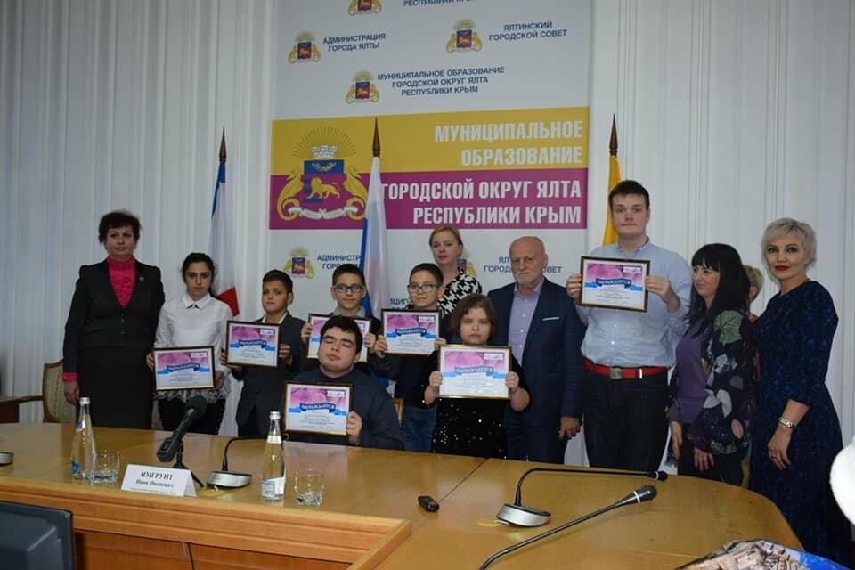 В Ялте чествовали лауреатов премии общественного признания «Преград нет», фото-1