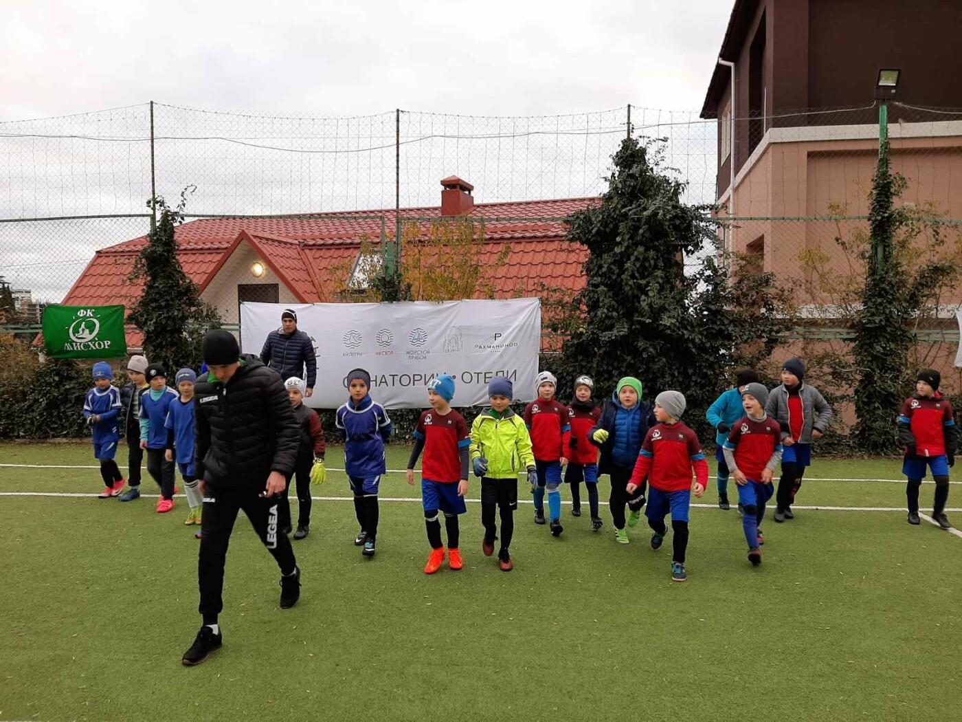 В санатории «Мисхор» провели детский турнир по футболу, - результаты , фото-2