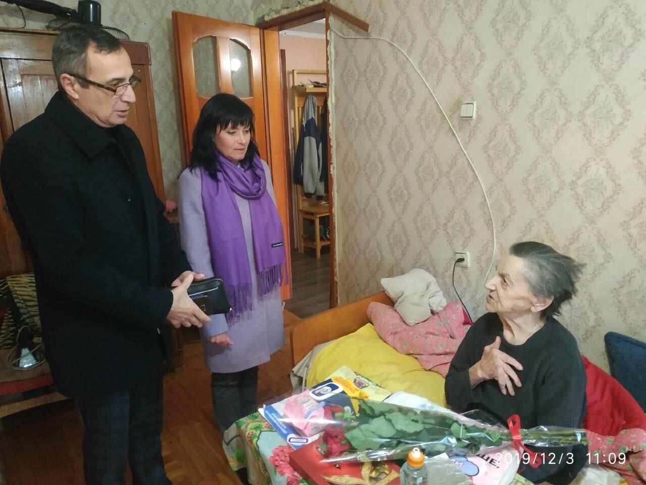 Почетных жителей Ялты поздравили с юбилеями, фото-1