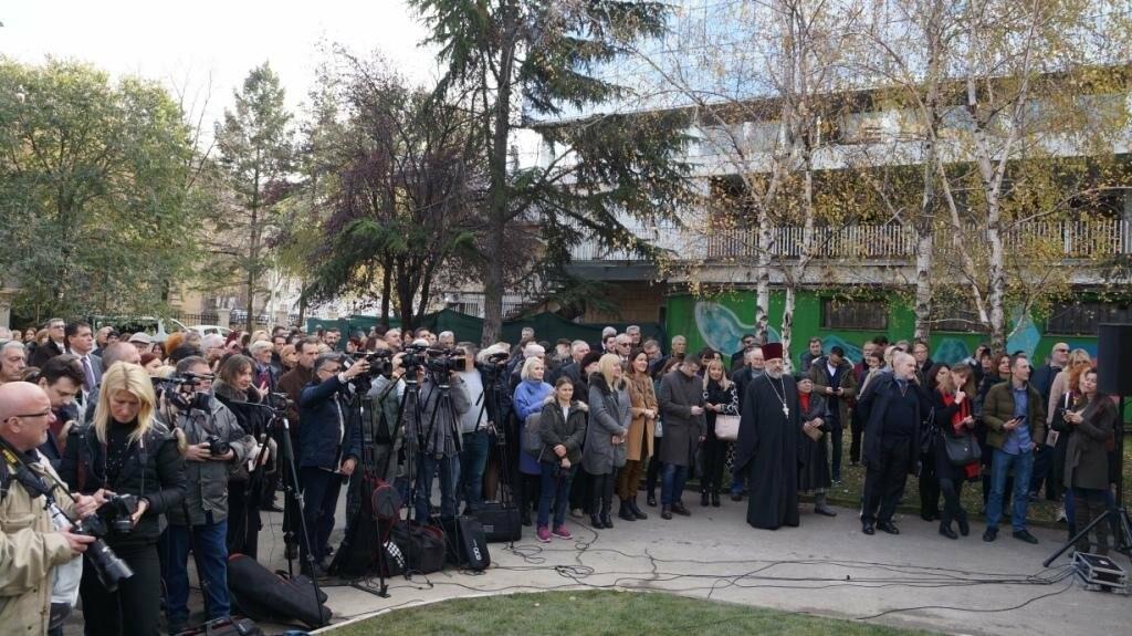 В Белграде открыли памятник легендарному архитектору ЮБК Николаю Краснову, фото-3