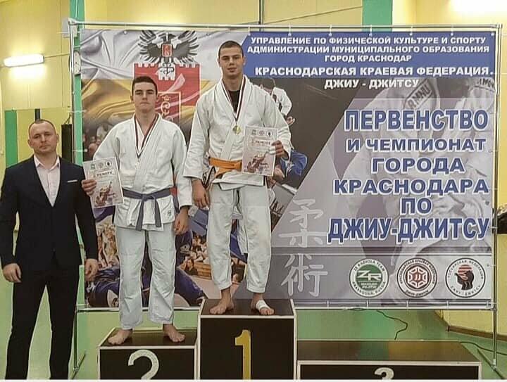 Ялтинец победил в Открытом Чемпионате Краснодара по джиу-джитсу, фото-1