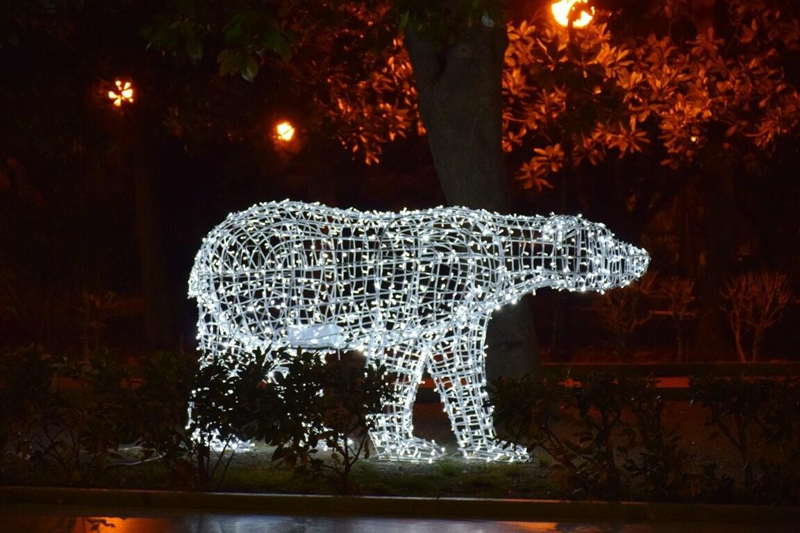 Новогодняя иллюминация будет появляться на улицах Ялты вплоть до 28 декабря, фото-6