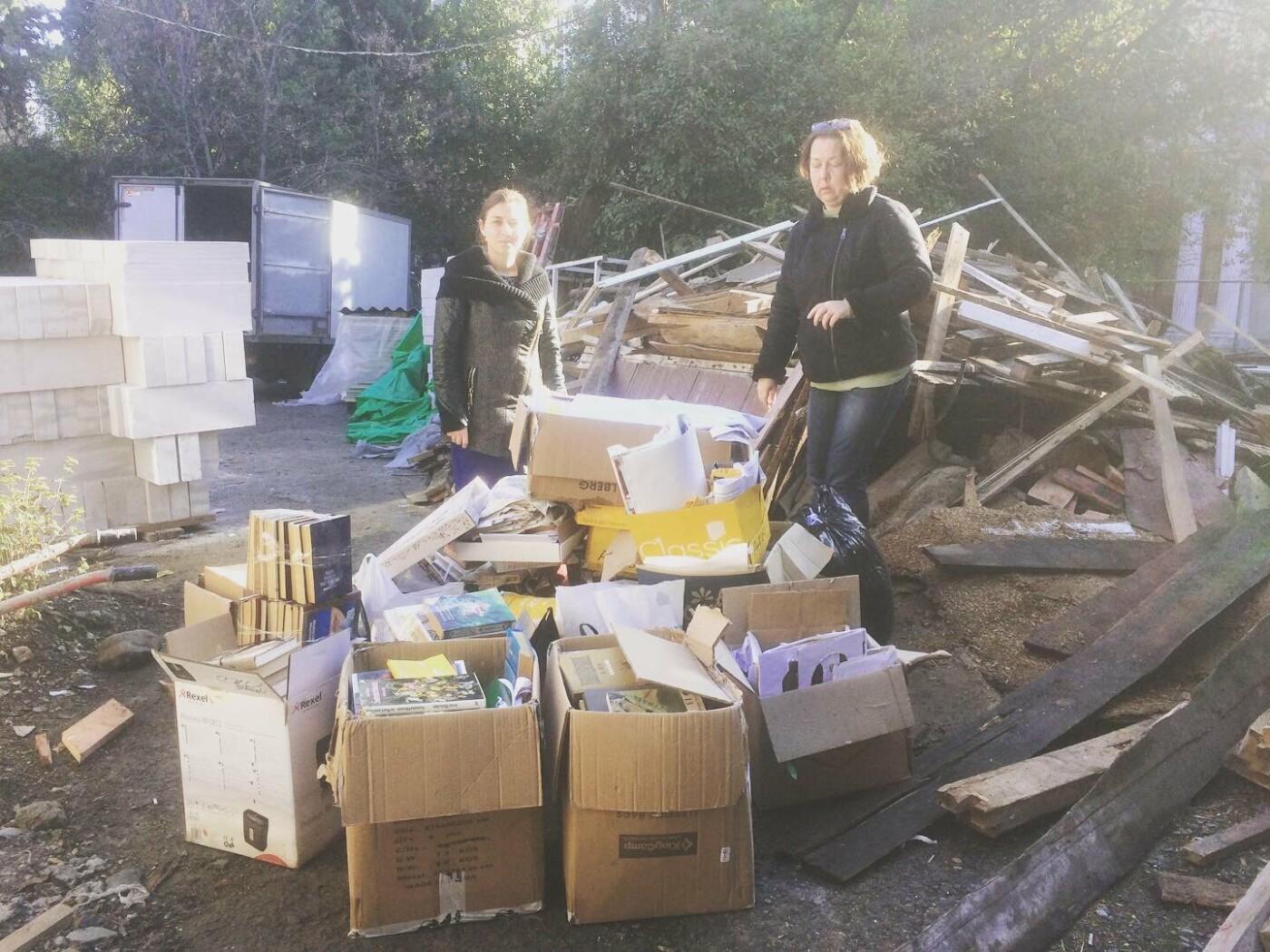Сдай макулатуру – спаси дерево: в Ялте прошла соревновательно-экологическая акция, фото-1