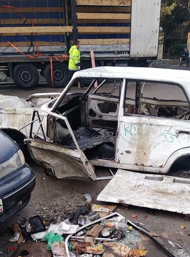 В Ялте с улиц начали эвакуировать автохлам, фото-2