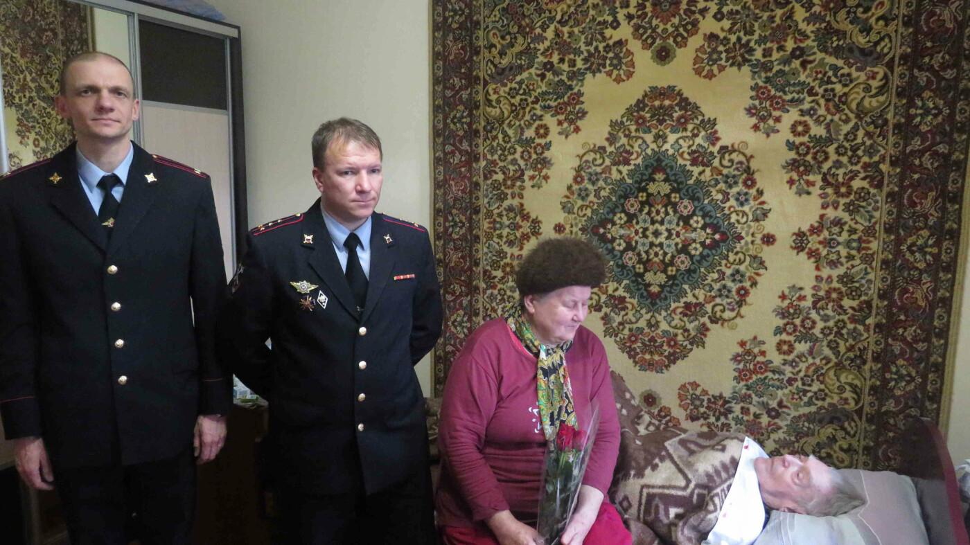 Сотрудники полиции Ялты поздравили ветерана Александра Крижевского , фото-2