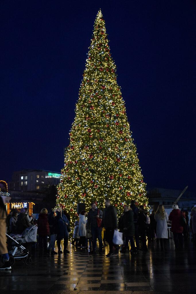 На набережной Ялты запустили праздничную иллюминацию, - фото , фото-1