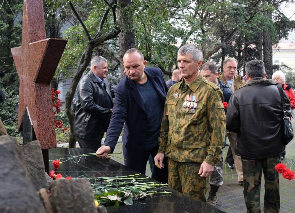 Памятное мероприятие к 40-й годовщине ввода советских войск в Афганистан, прошло в Ялте, фото-3