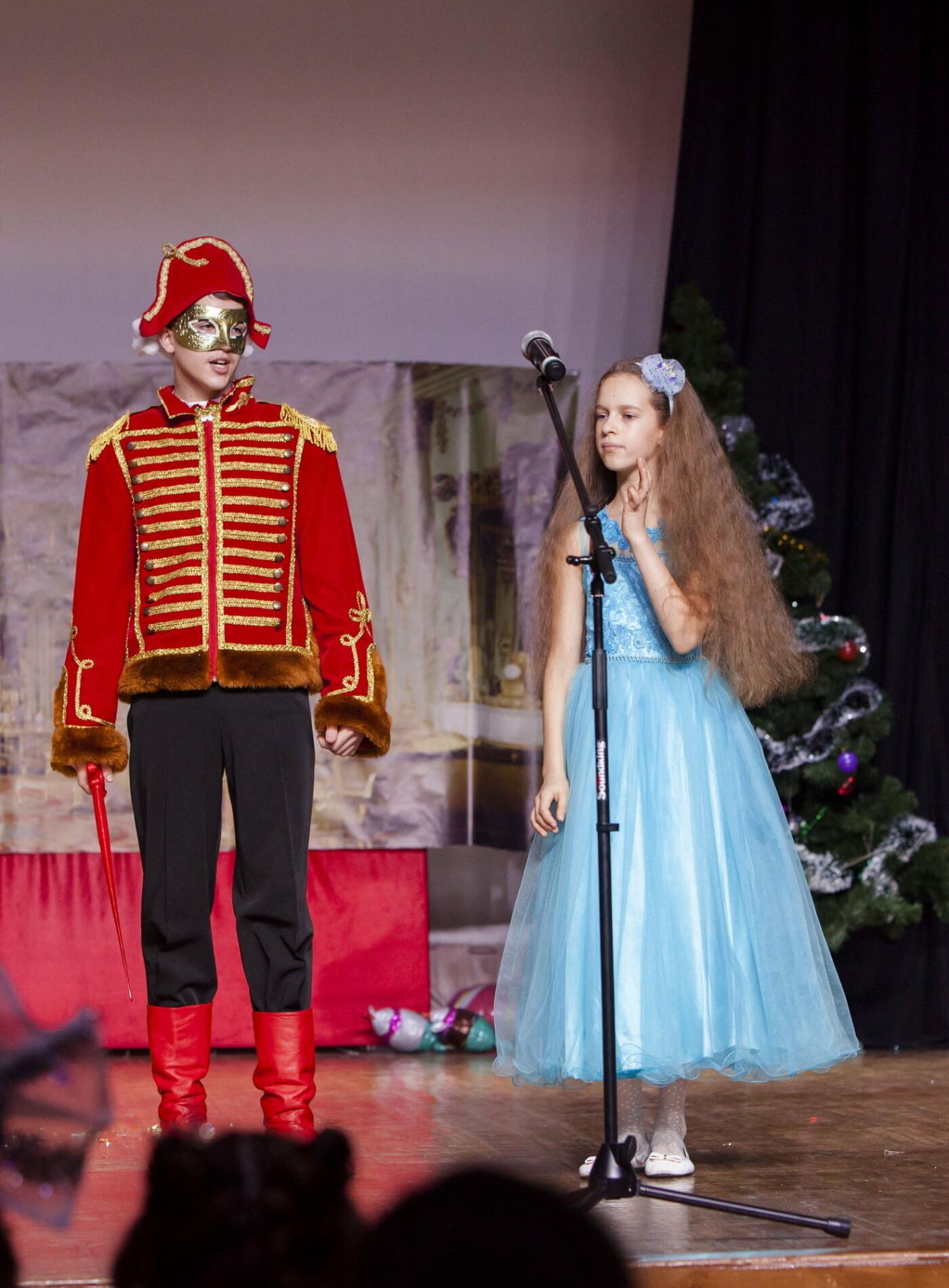 Настоящее волшебство: для учащихся Ялтинской школы №6 поставили сказку «Щелкунчик», фото-7