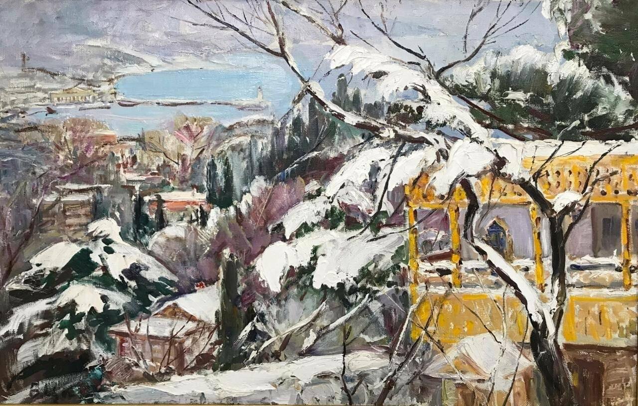 В Ялте завтра откроется новогодняя выставка картин, фото-3