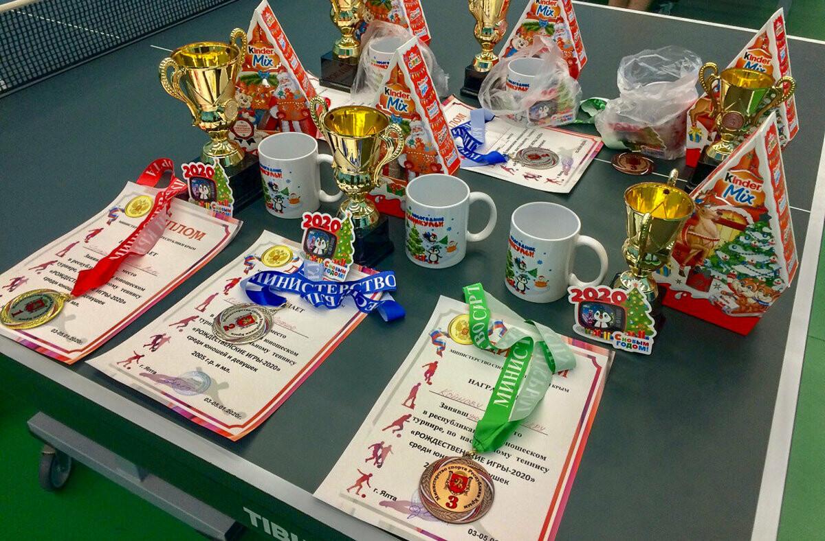 В Ялте прошли традиционные «Рождественские игры» по настольному теннису, фото-2